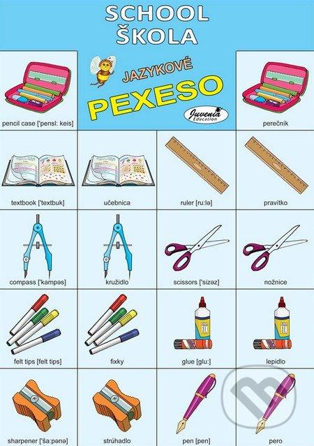 jazukové pexso, anglické pexeso, pexeso angličtina jedlo skola, pexeso skolske pomocky