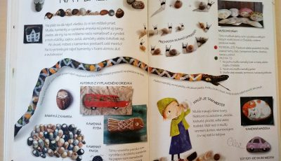 Flórin prírodný ateliér - tvoreníčka s deťmi zo šišiek, listov, paličiek a kamienkov