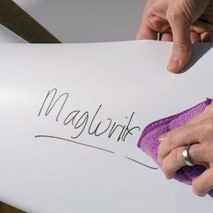 Magnetická fólia, popisovateľná magnetická fólia na stenu